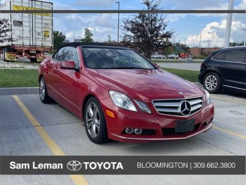 2011 Mercedes-Benz E-Class for sale at Sam Leman Toyota Bloomington in Bloomington IL