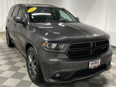 2017 Dodge Durango for sale at Mr. Car City in Brentwood MD