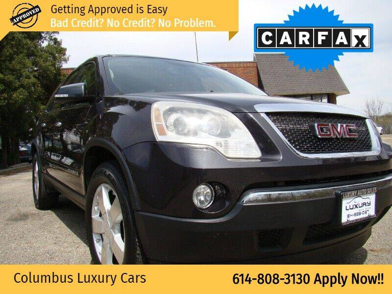 2008 GMC Acadia for sale at Columbus Luxury Cars in Columbus OH