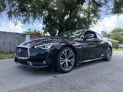 2017 Infiniti Q60 for sale at Auto Direct of South Broward in Miramar FL