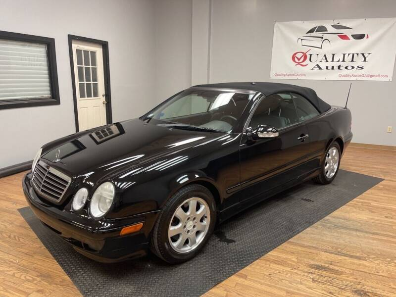 2001 Mercedes-Benz CLK for sale at Quality Autos in Marietta GA