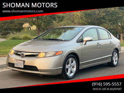 2006 Honda Civic for sale at SHOMAN AUTO GROUP in Davis CA