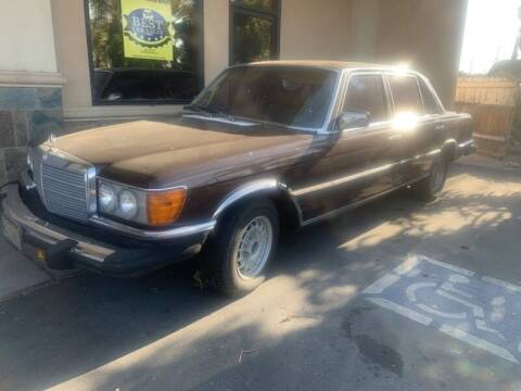 1980 Mercedes-Benz 450-Class for sale at Best Car Sales in South Gate CA