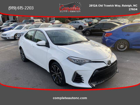 2018 Toyota Corolla for sale at Complete Auto Center , Inc in Raleigh NC
