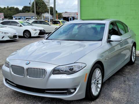 2013 BMW 5 Series for sale at Caesars Auto Sales in Longwood FL