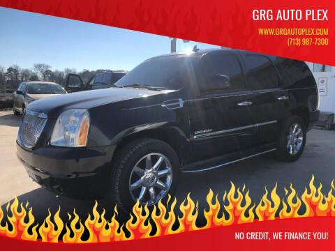 2009 GMC Yukon for sale at GRG Auto Plex in Houston TX