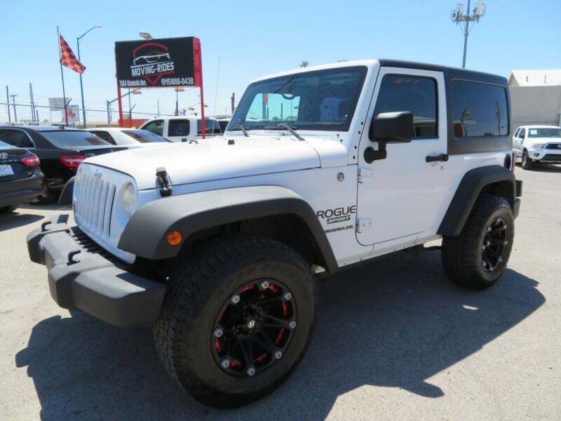 2012 Jeep Wrangler for sale at Moving Rides in El Paso TX