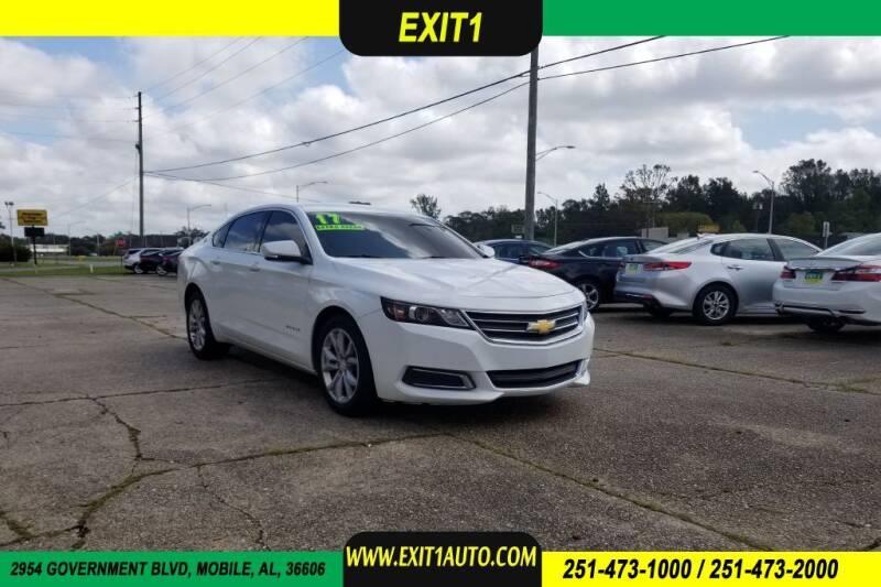 2017 Chevrolet Impala for sale at Exit 1 Auto in Mobile AL
