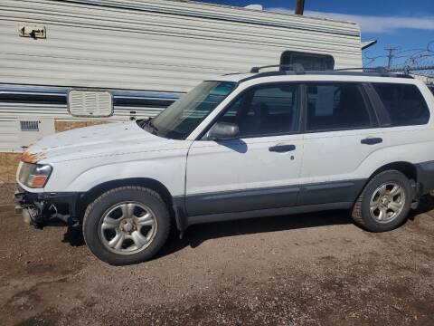2003 Subaru Forester for sale at PYRAMID MOTORS - Fountain Lot in Fountain CO