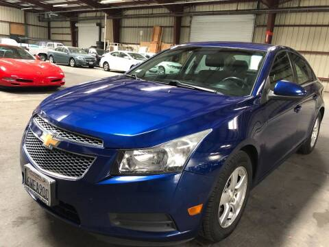 2012 Chevrolet Cruze for sale at Car Source Center in West Sacramento CA