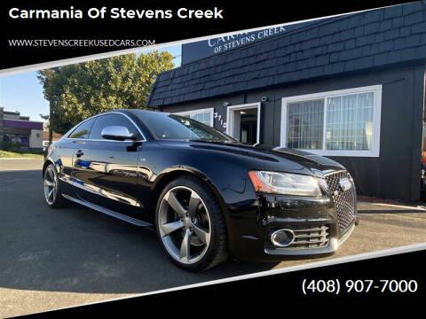 2011 Audi S5 for sale at Carmania of Stevens Creek in San Jose CA