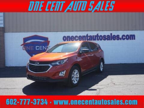 2020 Chevrolet Equinox for sale at One Cent Auto Sales in Glendale AZ