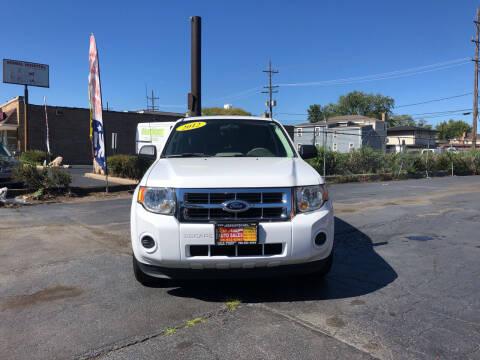 2012 Ford Escape for sale at RON'S AUTO SALES INC in Cicero IL