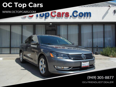 2015 Volkswagen Passat for sale at OC Top Cars in Irvine CA
