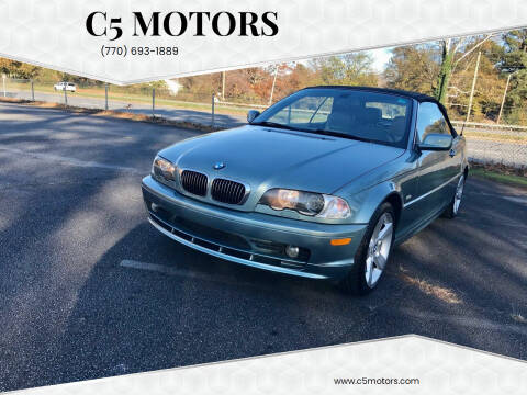 2003 BMW 3 Series for sale at C5 Motors in Marietta GA