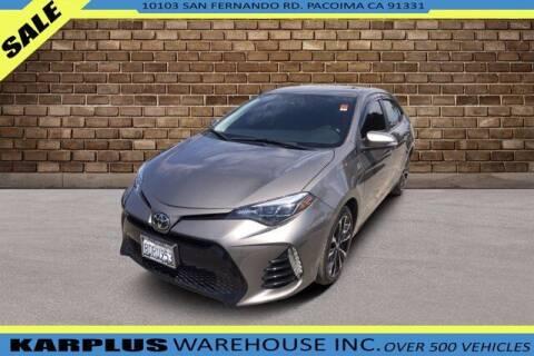 2018 Toyota Corolla for sale at Karplus Warehouse in Pacoima CA