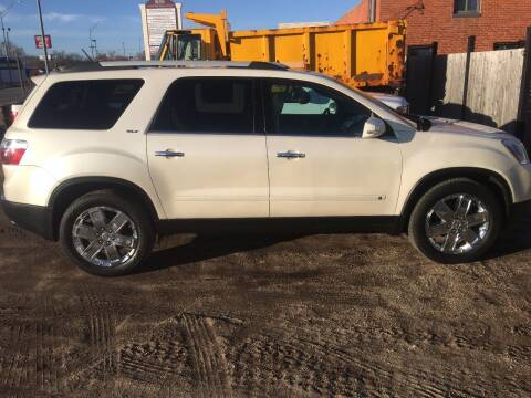 2010 GMC Acadia for sale at Bramble's Auto Sales in Hastings NE