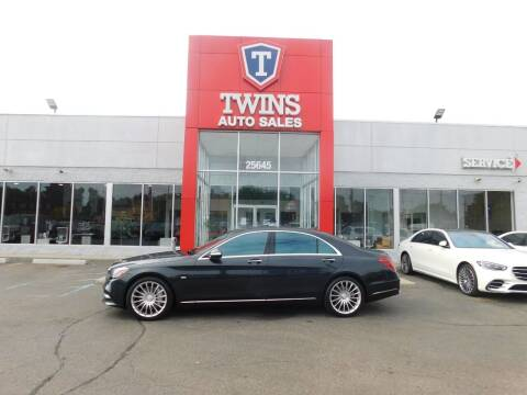 2019 Mercedes-Benz S-Class for sale at Twins Auto Sales Inc Redford 1 in Redford MI