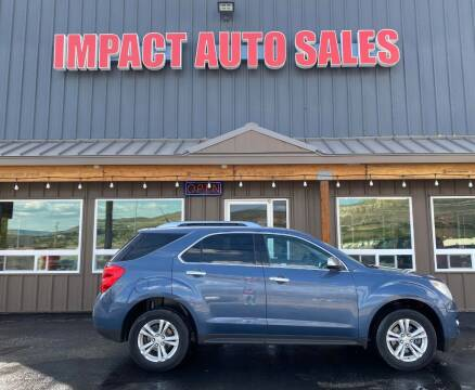 2011 Chevrolet Equinox for sale at Impact Auto Sales in Wenatchee WA
