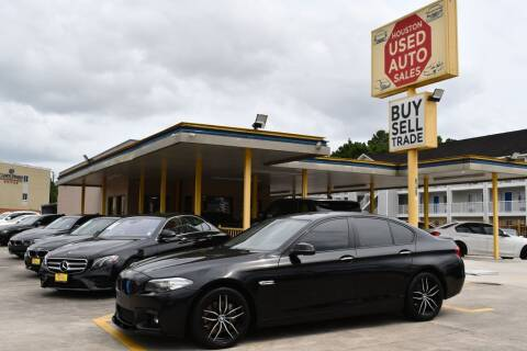 2015 BMW 5 Series for sale at Houston Used Auto Sales in Houston TX