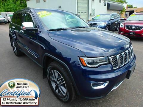 2017 Jeep Grand Cherokee for sale at Jon's Auto in Marquette MI