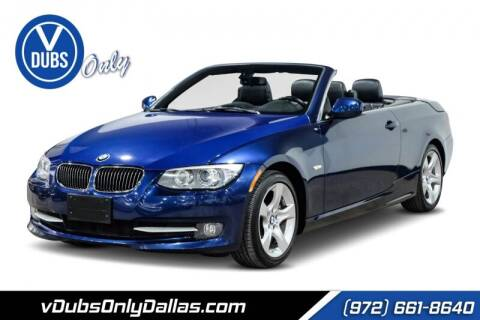 2011 BMW 3 Series for sale at VDUBS ONLY in Dallas TX