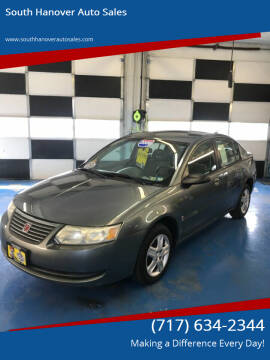 2006 Saturn Ion for sale at South Hanover Auto Sales in Hanover PA