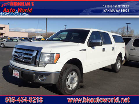 2011 Ford F-150 for sale at Bruce Kirkham Auto World in Yakima WA