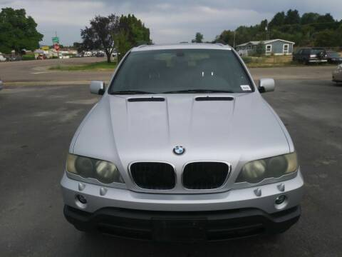 2003 BMW X5 for sale at Marvelous Motors in Garden City ID