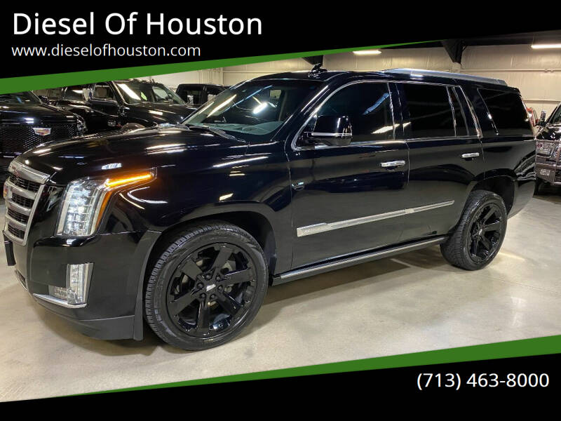 2016 Cadillac Escalade for sale at Diesel Of Houston in Houston TX