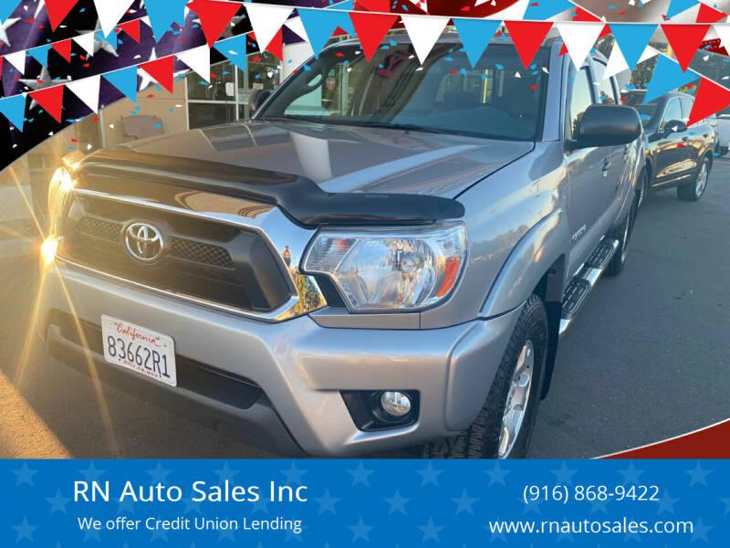 2015 Toyota Tacoma for sale at RN Auto Sales Inc in Sacramento CA