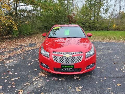 2012 Chevrolet Cruze for sale at L & R Motors in Greene ME