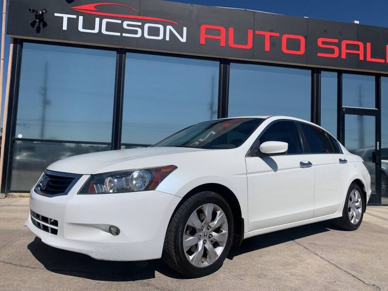 2008 Honda Accord for sale at Tucson Auto Sales in Tucson AZ