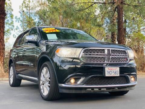 2015 Dodge Durango for sale at Right Cars Auto Sales in Sacramento CA