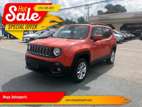 2016 Jeep Renegade for sale at Mega Autosports in Chesapeake VA