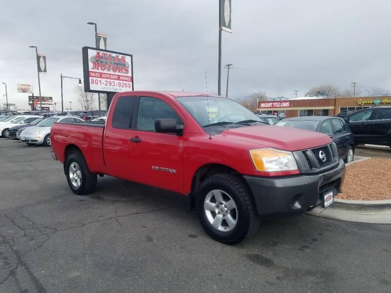 2008 Nissan Titan for sale at ATLAS MOTORS INC in Salt Lake City UT