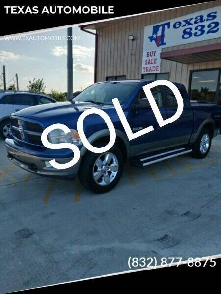 2009 Dodge Ram Pickup 1500 for sale at TEXAS AUTOMOBILE in Houston TX