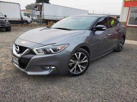 2016 Nissan Maxima for sale at Yaktown Motors in Union Gap WA