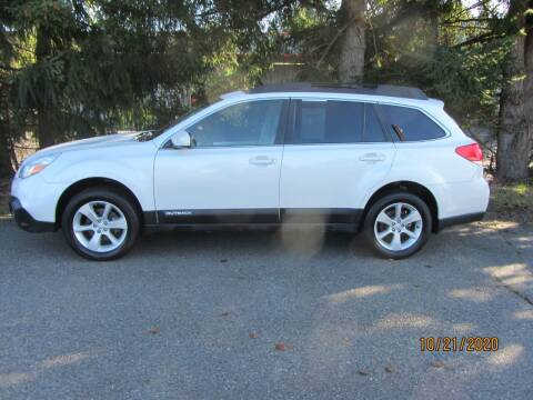 2013 Subaru Outback for sale at B & C Northwest Auto Sales in Olympia WA