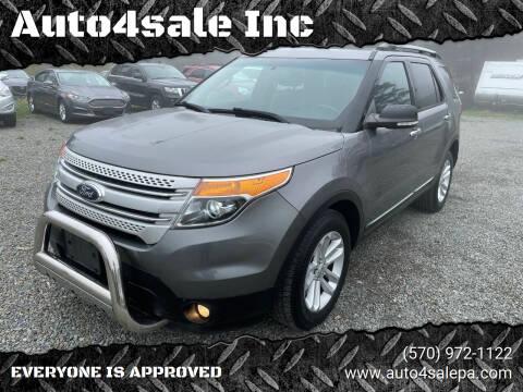 2013 Ford Explorer for sale at Auto4sale Inc in Mount Pocono PA