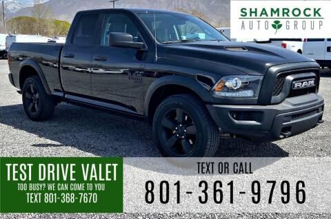 2019 RAM Ram Pickup 1500 Classic for sale at Shamrock Group LLC #1 in Pleasant Grove UT