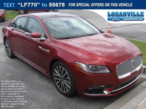 2017 Lincoln Continental for sale at NMI in Atlanta GA