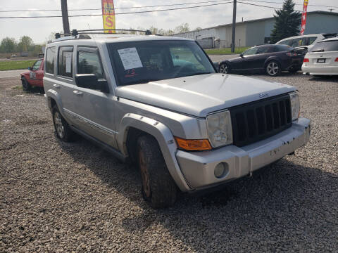 2008 Jeep Commander for sale at EHE Auto Sales in Marine City MI