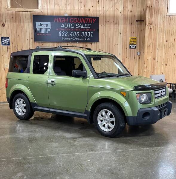 2008 Honda Element for sale at Boone NC Jeeps-High Country Auto Sales in Boone NC