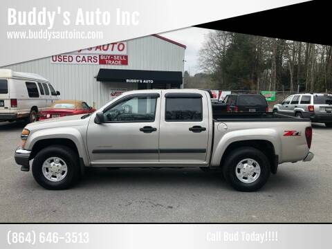 2004 Chevrolet Colorado for sale at Buddy's Auto Inc in Pendleton SC