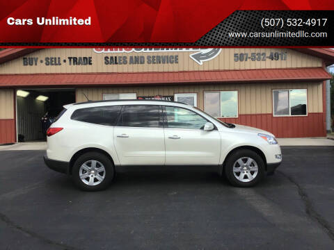 2012 Chevrolet Traverse for sale at Cars Unlimited in Marshall MN