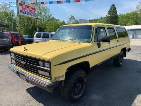 1989 Chevrolet Suburban for sale at INTERNATIONAL AUTO SALES LLC in Latrobe PA