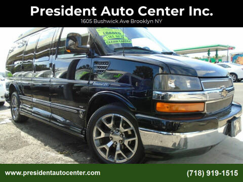 2011 Chevrolet Express Cargo for sale at President Auto Center Inc. in Brooklyn NY