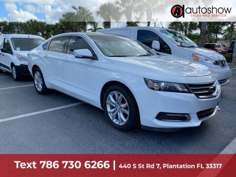 2018 Chevrolet Impala for sale at AUTOSHOW SALES & SERVICE in Plantation FL