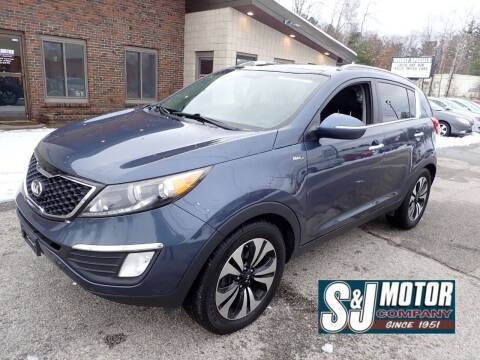 2013 Kia Sportage for sale at S & J Motor Co Inc. in Merrimack NH